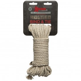 Бондажная пеньковая верёвка Kink Bind & Tie Hemp Bondage Rope 30 Ft - 9,1 м.