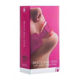 Кляп Brace Balll Pink