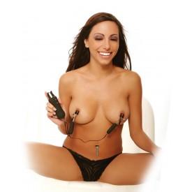 Зажимы на соски с вибрацией Vibrating Nipple Clamps